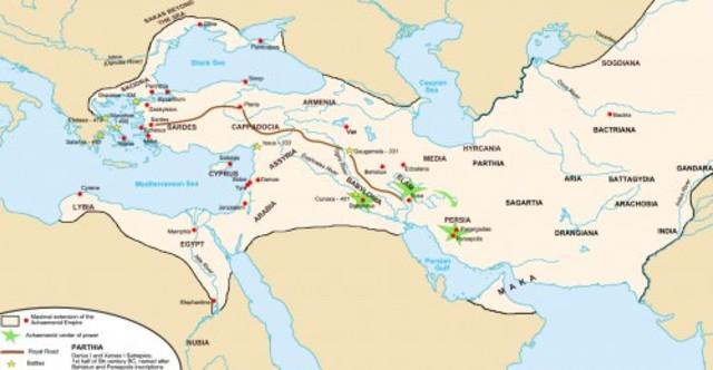 Darius the Great, Persia (522-486 BCE)