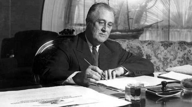Roosevelt 1st Election