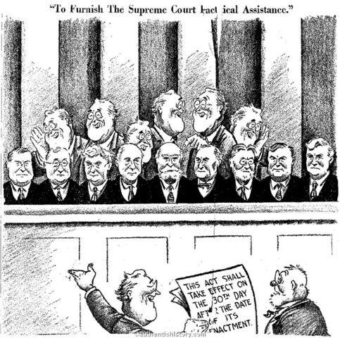 FDR Court Packing Scandal