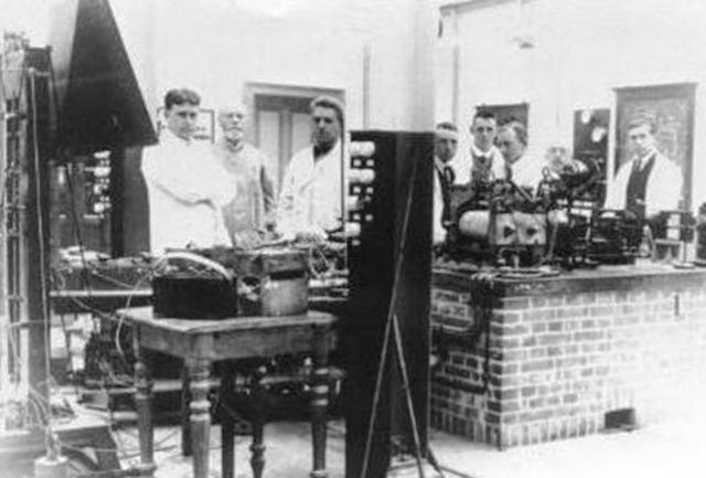 Primeros Laboratorios de Estandáres