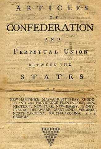 Meeting of five states to discuss revision of the Articles of Confederation