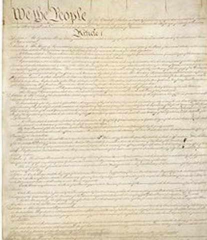 Ratification by nine states guarantees a new government under the Constitution
