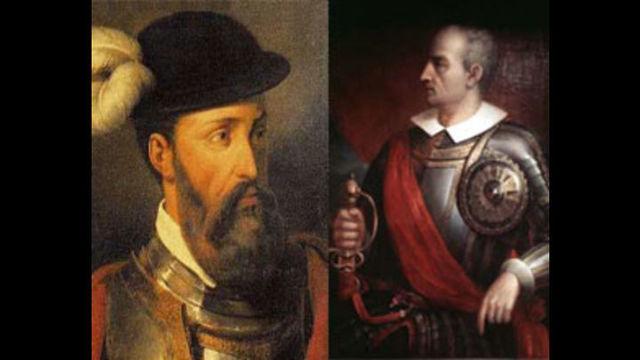 Francisco Pizarro i Diego de Almagro