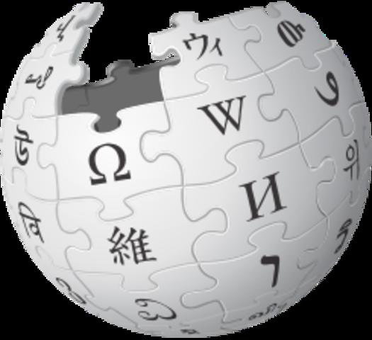 Creación de Wikipedia.