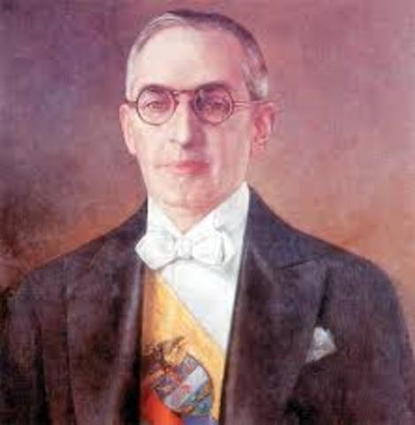 presidente Alfonzo Lopéz Pumarejo