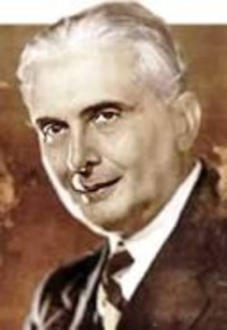 lleguo a la presidencia Mariano Ospina Péreo