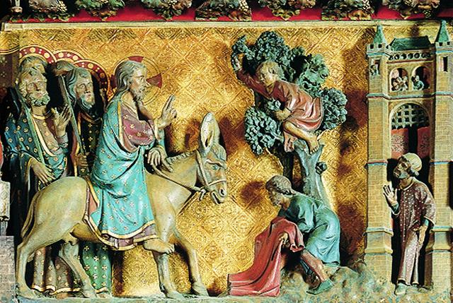 Trascoro de la Catedral de París - Domingo de Ramos
