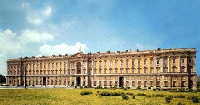 Palacio de Caserta en Nápoles