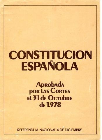Constitución del 1978