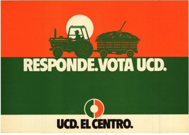 La UCD gana las elecciones legislativas
