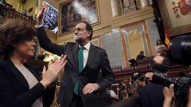 Moción de censura a Mariano Rajoy
