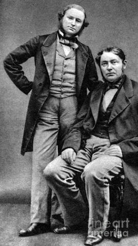 Robert Bunsen y Gustav Kirchhoff