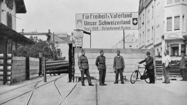 Schliessung der Schweizer Grenzen
