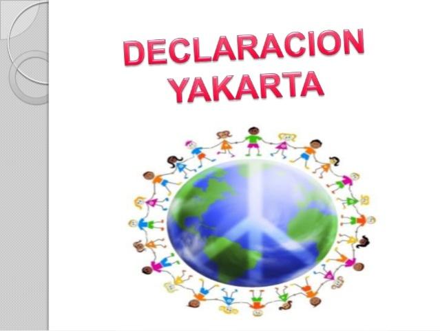 IV Declaración de Yakarta