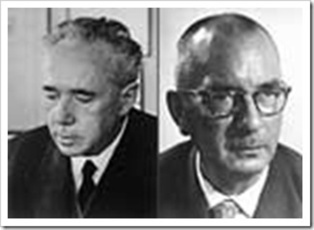 Karl Ziegler y Giulio Natta