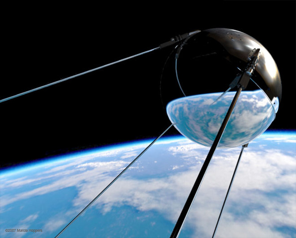 Spuknip was launched in to space by the soviet union