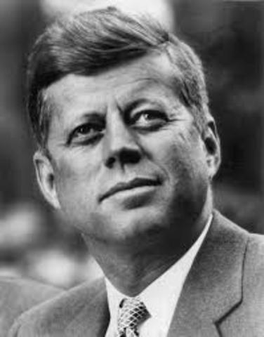 JFK elected for President