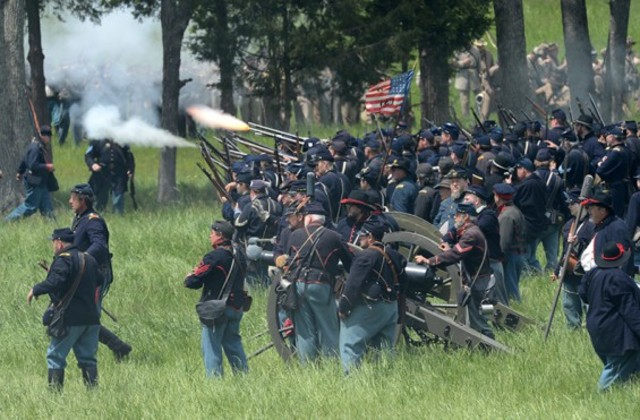 The end of Battle of Chancellorsville