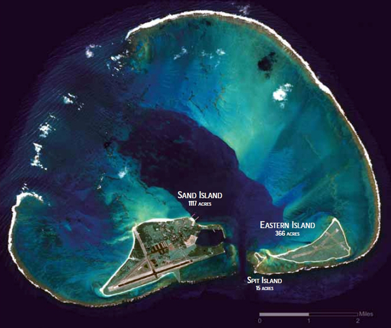 United States Takes Control on Midway Island