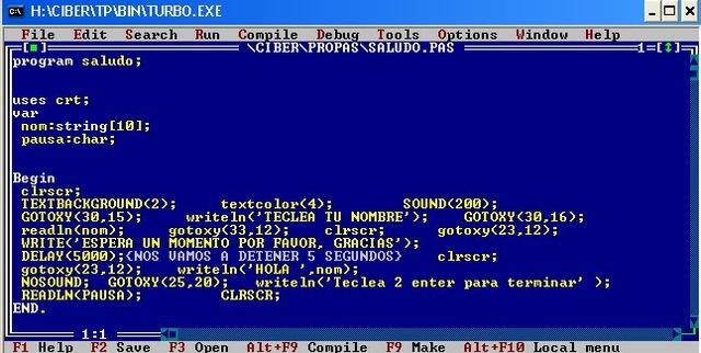 """Lenguaje de Programación """"PASCAL"""""""