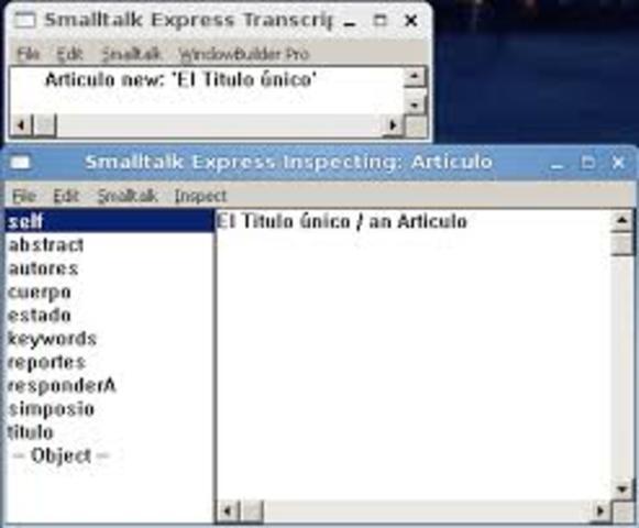 Lenguaje SmallTalk