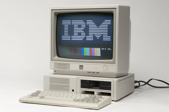Primer PC de IBM.
