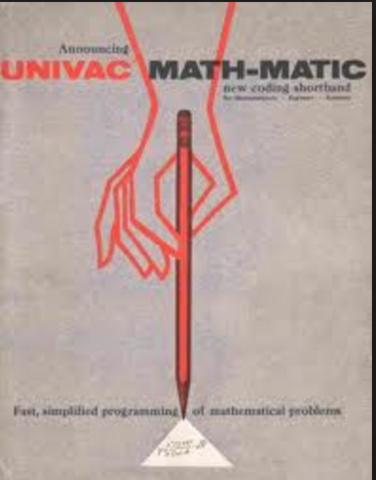MATH-MATIC 1951