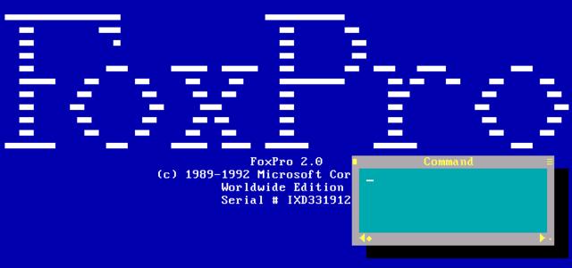FoxPro 1989