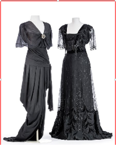 Evening Gown with Tango Train