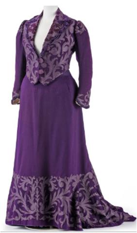 Lilac Walking Dress