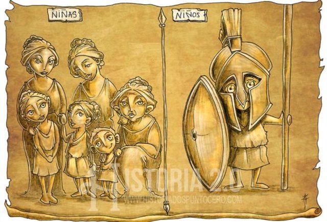 Edad Antigua - Esparta