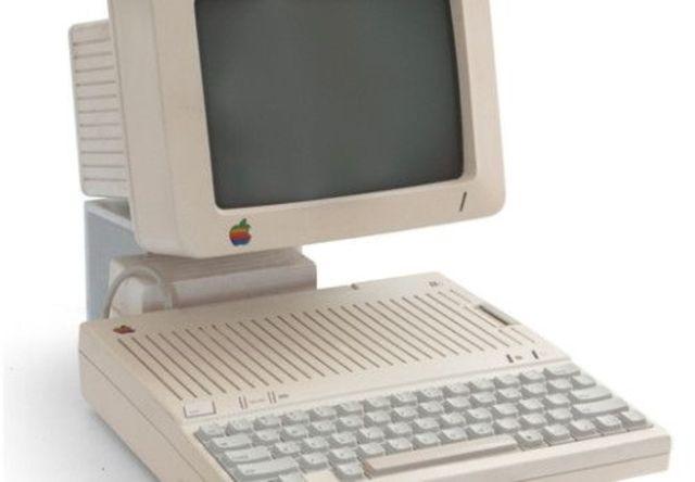 Apple IIC.