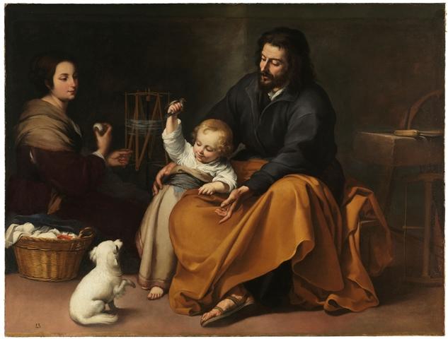Primeras imágenes de niños en pinturas.