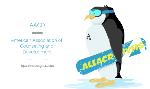 American Association for Counseling and Development (AACD)