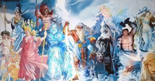 O que Mitologia Grega