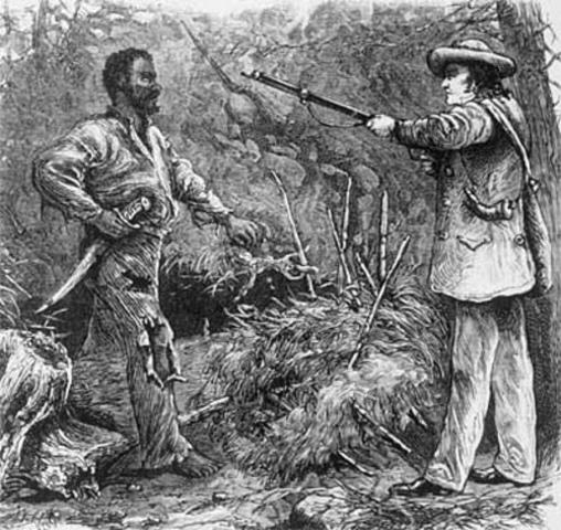 Nat Turner Begins His Rebellion