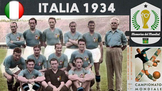 MUNDIAL 1934 - ITALIA