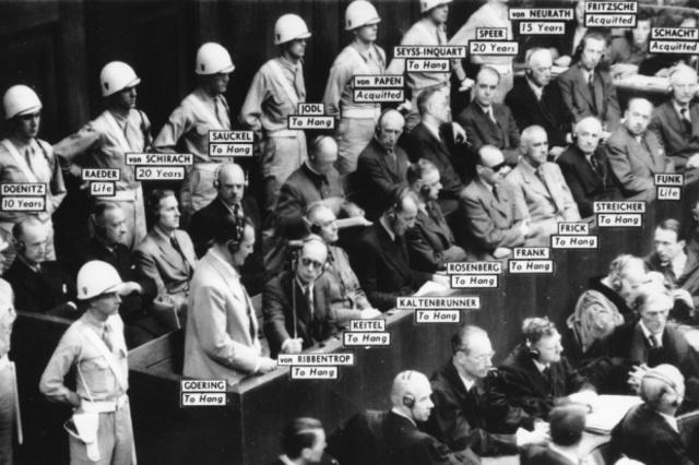 Nürnberger Prozesse/ Nürnberger Nachfolgeprozesse