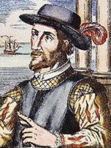 Juan Ponce de Leon sets sail