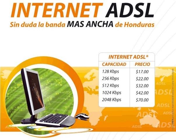 Hondutel proveedor de internet