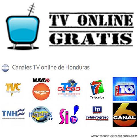 Canales Hondureños de television por internet