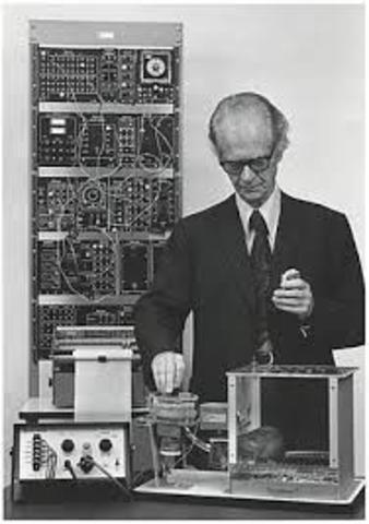 Máquinas de enseñanza de Skinner