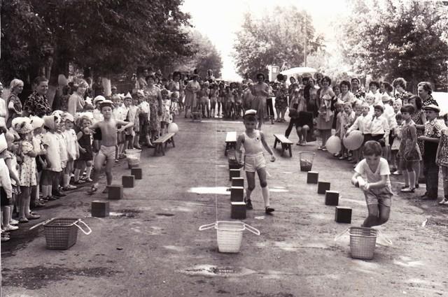 Спортивные соревнования между детскими садами «Ласточка» и «Берёзка»