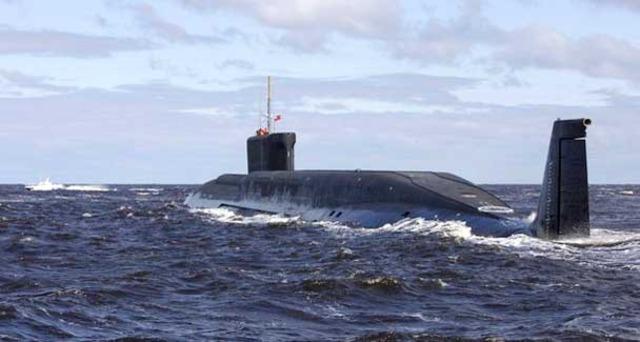 First Atomic Submarine