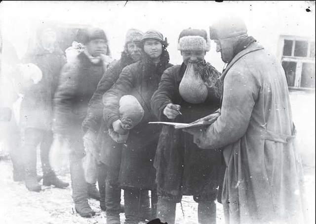 Месячная плата во время хлебозаготовок