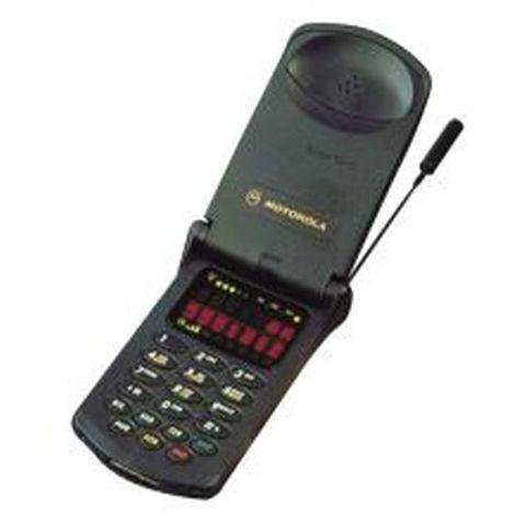 Aparece la estrella de la familia: Motorola StarTAC