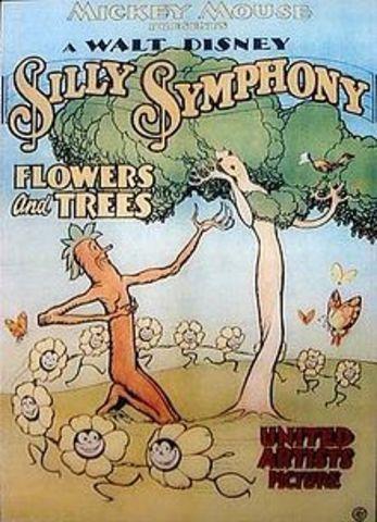 мультфильм «Цветы и деревья»