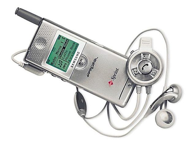 Llegan los teléfonos celulares con reproductores de MP3.