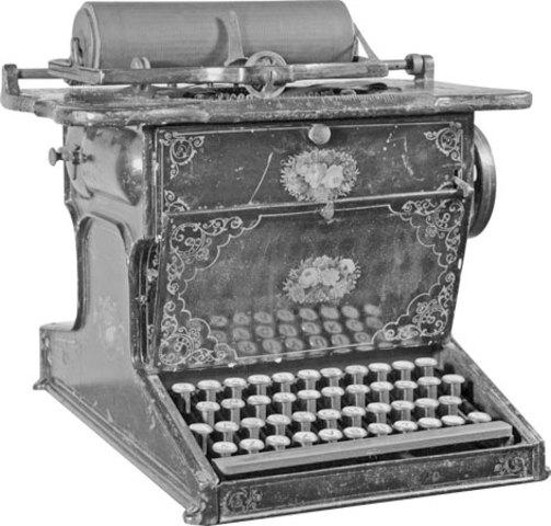 First Practical and Modern Typewriter