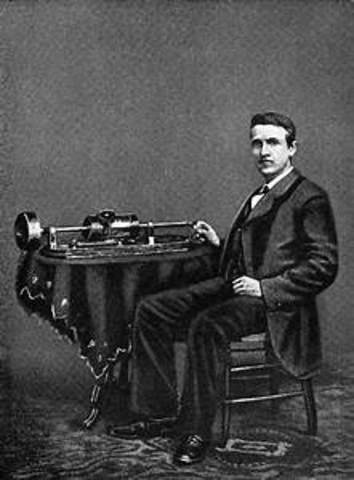 Cylinder Phonograph